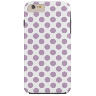 Lila polka dots tough iPhone 6 plus fodral