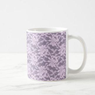 Lila snöre kaffemugg