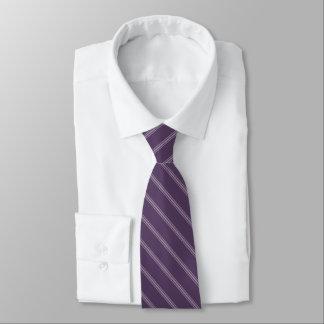 lila streck moderiktig purpurfärgad plommon eller slips