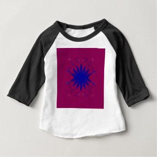 Lilablåttmandala Tee Shirts