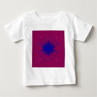 Lilablåttmandala Tshirts