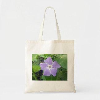 Lilafärgadblomma Tote Bags