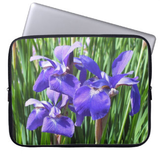 Lilan Irises laptop sleeve