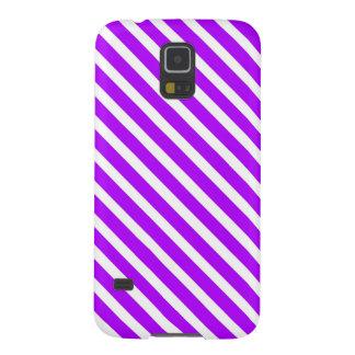 LILAPRIDE! ~ (för randig design) Galaxy S5 Fodral