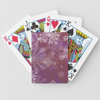 Lilavinter Spel Kort