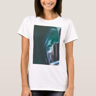 Lilja den gulliga flickafokuseringen t-shirts