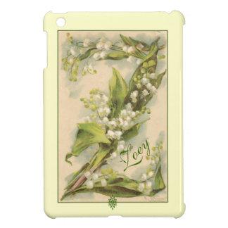 Lilja för Catherine Klein blommaalfabet Z av dalen iPad Mini Mobil Skal