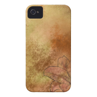Lilja i orange iPhone 4 Case-Mate skal