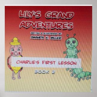 Lilja tusen dollar äventyrar Charlies den första k Poster