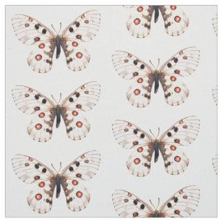 Lilla Apollo fjärilar belade med tegel tyg