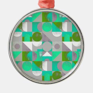 Lilla leksakkvarter - grönt julgransprydnad metall