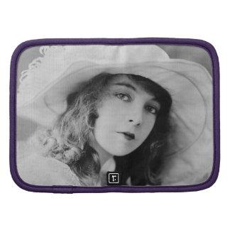 Lillian Gish i svartvitt Personlig Almanackor