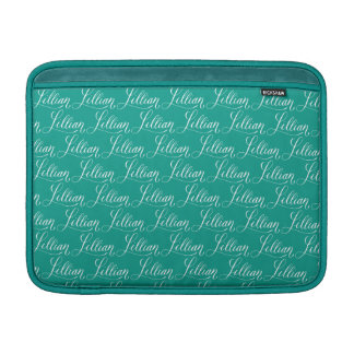 Lillian - modern Calligraphynamndesign MacBook Air Sleeve