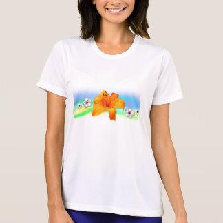 Lilly orange tee shirt