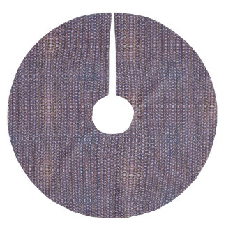 Lilor anodiserat Titanium ringbrynjametallpansar Julgrankjol