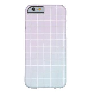 Lilor - design för blåttlutningraster barely there iPhone 6 fodral
