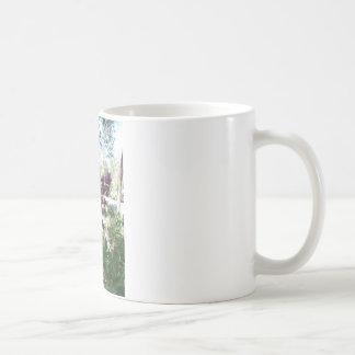 Lilor för bergvårlilor kaffemugg