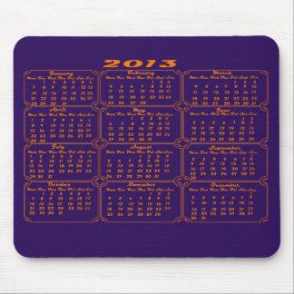 Lilor för kalender 2013 musmatta