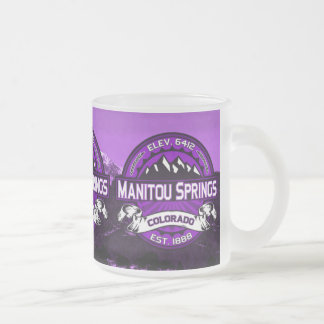 Lilor för Manitou vårmugg Frostad Glasmugg