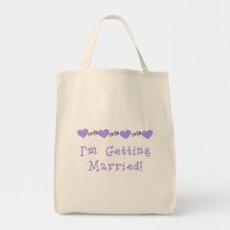 Lilor gifta sig Tshirts och gåvor Mat Tygkasse