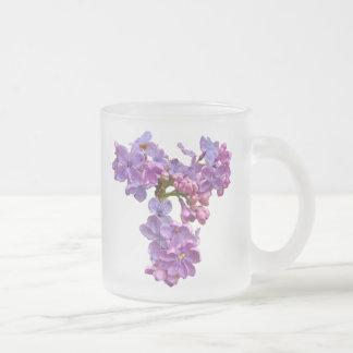 Lilor i Springtime Frostad Glasmugg