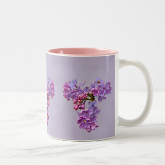 Lilor i Springtime Två-Tonad Mugg