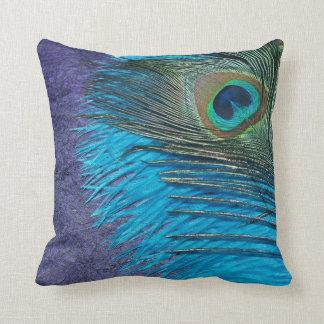 Lilor och krickapåfågel dekorativ kudde