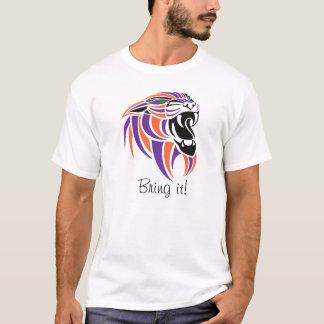 Lilor orangen, svart, kommer med det! tee shirts