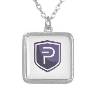 Lilor skyddar PIVX Silverpläterat Halsband