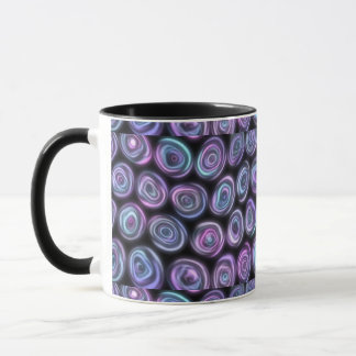 Lilor & svarten virvlar runt den abstrakt