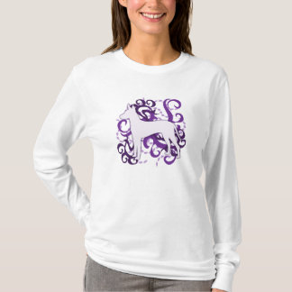 Lilor virvlar runt Xoloitzcuintli Tee Shirts