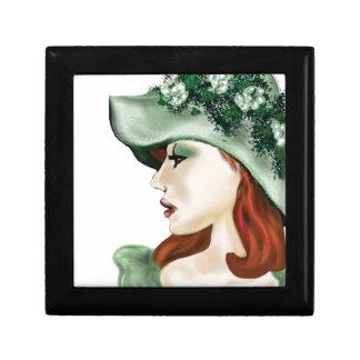 Lilyzm 2.jpg för jänta för St Patrick dag irländsk Smyckeskrin