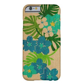 Limahuli trädgårds- hawaianskt Fauxträ Barely There iPhone 6 Skal