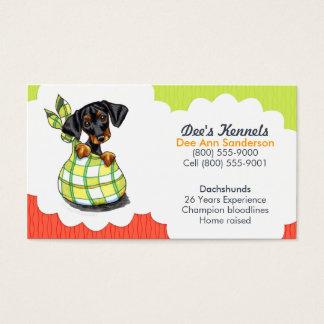 Limefrukt för tomat för valp för hundavelsdjurtax visitkort