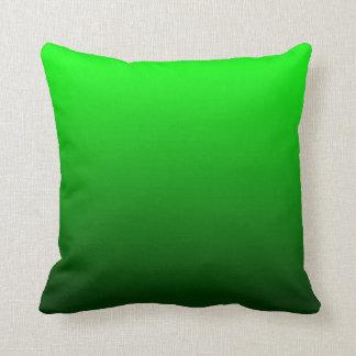 Limefrukt gröna Ombre Kudde