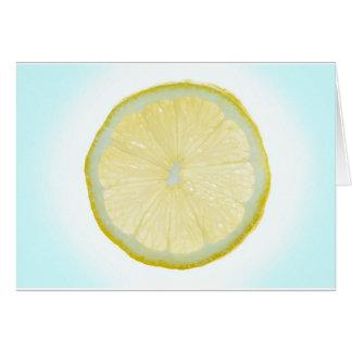 Limefrukt Hälsningskort