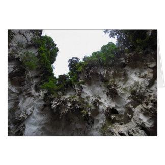 Limestonegrottor Hälsningskort