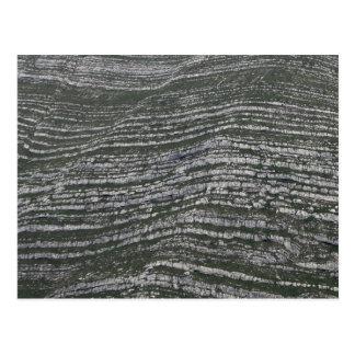 Limestonelagrar i den österrikiska alpernan vykort