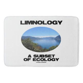 Limnology en underdel av ekologi (sjöOceanography) Badrumsmatta
