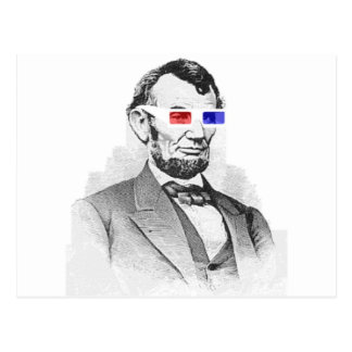 Lincoln i 3D! Vykort