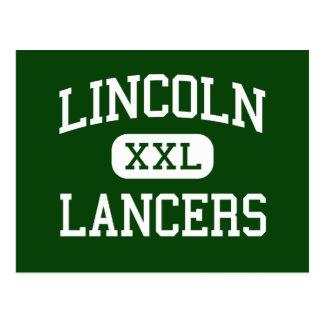 Lincoln - Lancers - junior - Naperville Illinois Vykort
