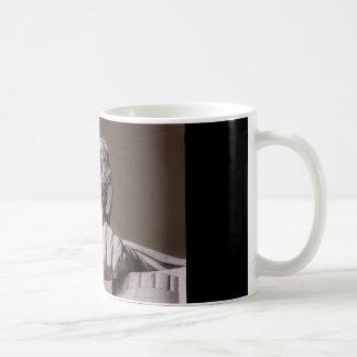 Lincoln minnesmärke kaffemugg