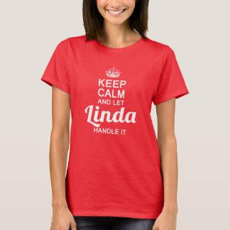 Linda handtag det! tee shirt