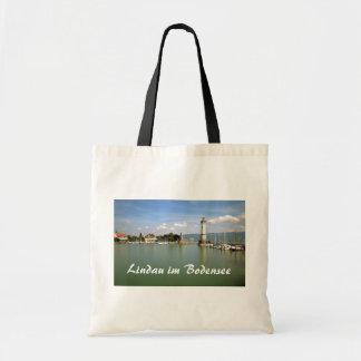 Lindau im Bodensee, tyskland souvenir Tygkasse