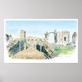 Lindisfarne Priory Poster