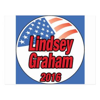 Lindsey Graham för president i 2016 Vykort