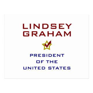 Lindsey Graham för presidenten USA Vykort