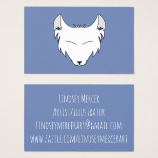 Lindsey Mercerlogotyp Visitkort