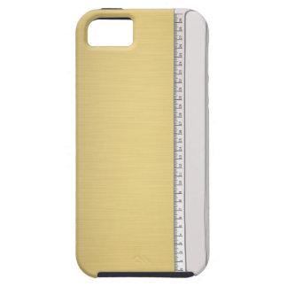 Linjal på guld iPhone 5 cases