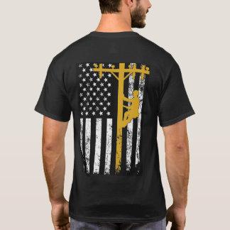 LinjearbetareT-tröjagult Tshirts